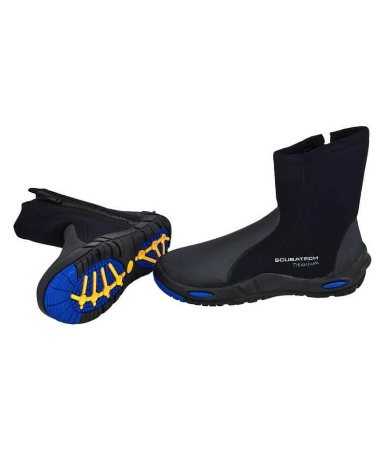 """Neopren-Schuhe """"Comfort Titanium"""" 7"""