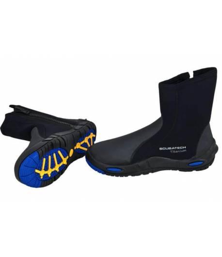 Neopren-Schuhe Comfort Titanium 7mm