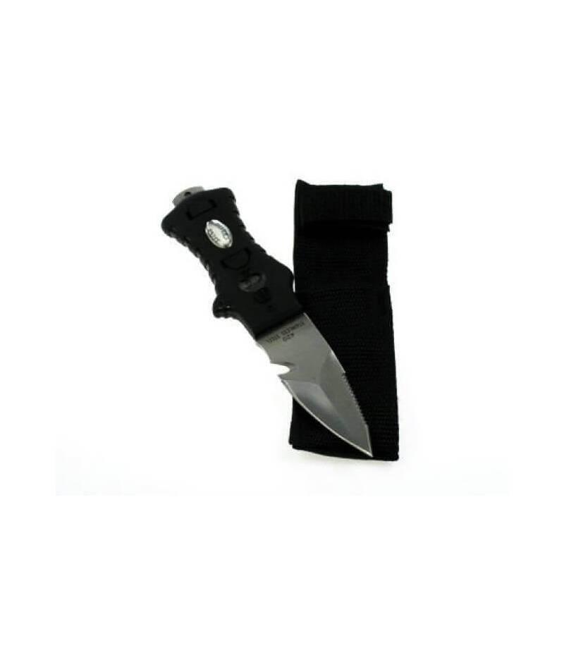 Messer mit Spitze für Bauchgurt