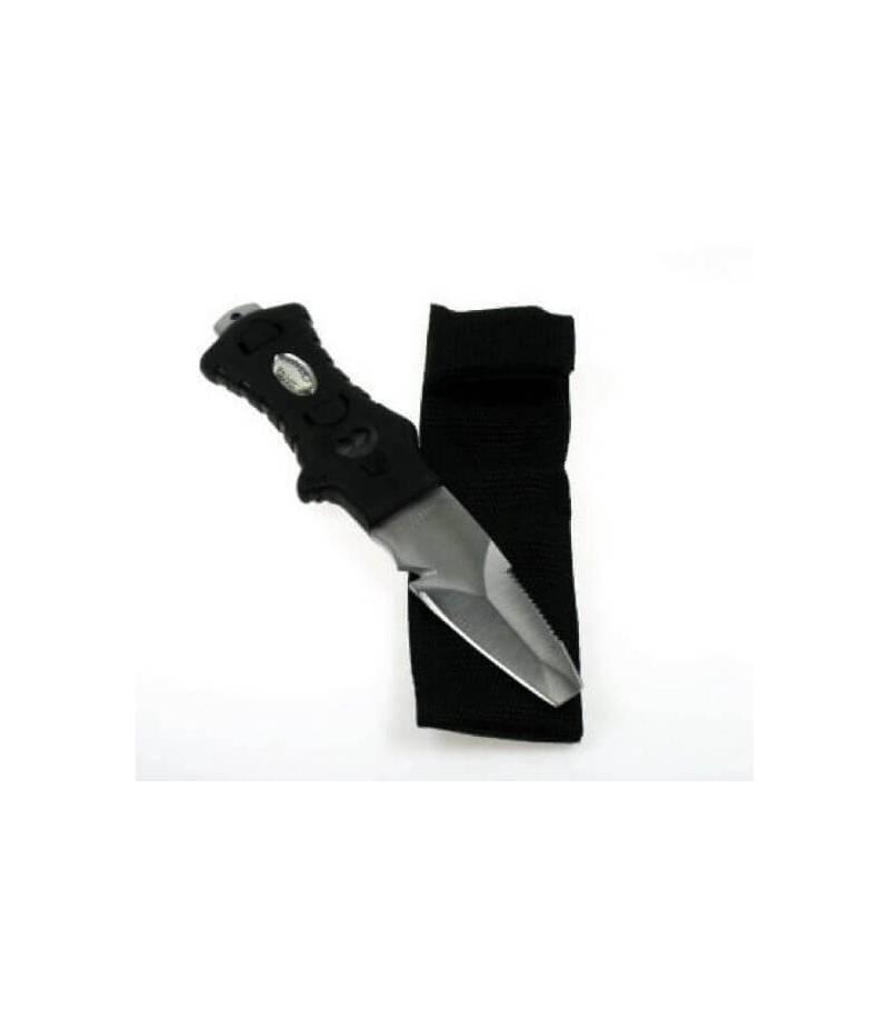 Messer ohne Spitze für Bauchgurt