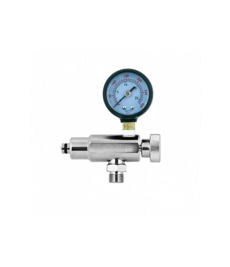 Einstellwerkzeug mit Mitteldruck-Manometer