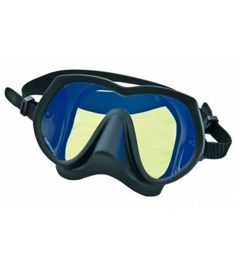 Maske Framless SuperView, ungeteilt, gelbe Gläser