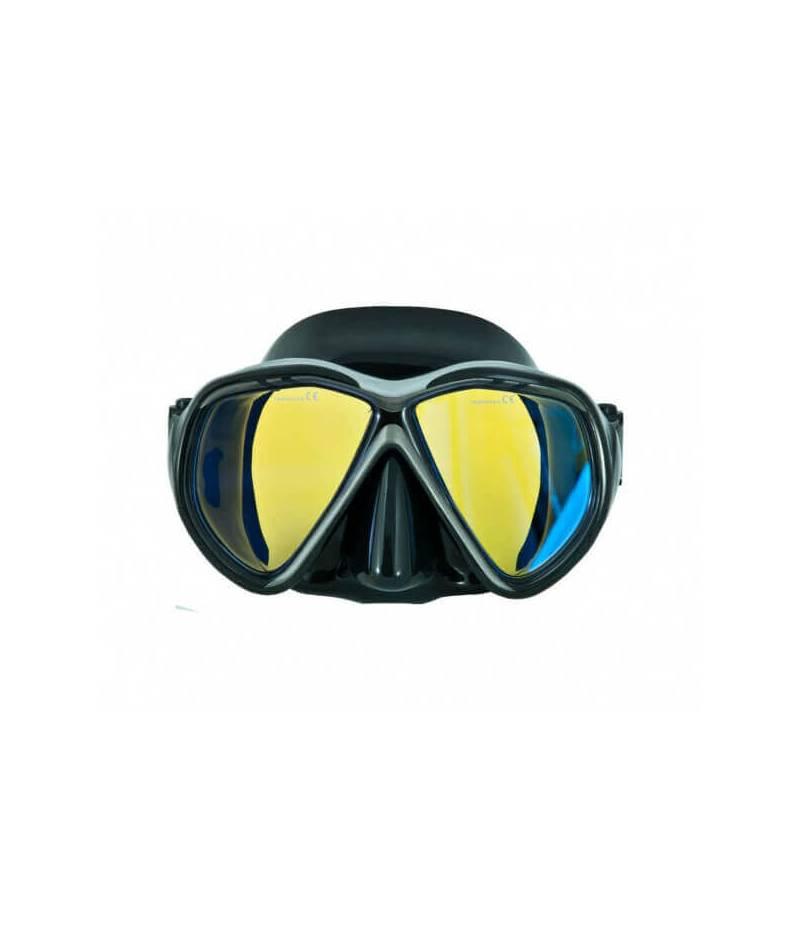 "Maske ""Tiara"" II, gelbe Gläser"