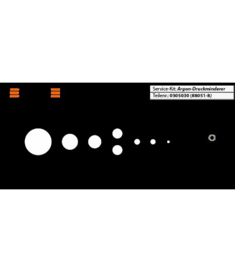 Revisions-Kit Druckminderer [Scubatech]