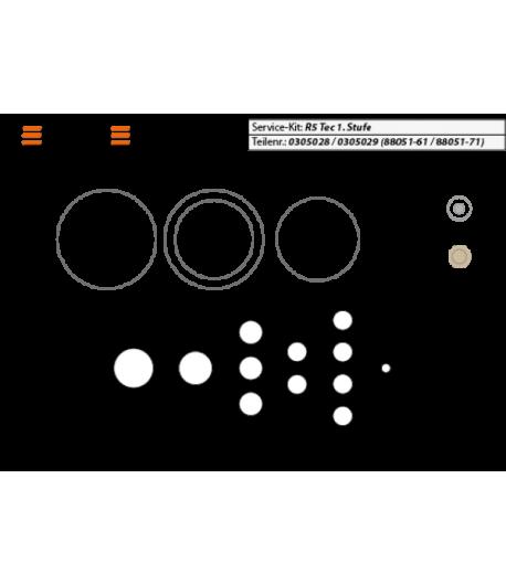 Revisions-Kit 1. Stufe R5/V1/V2 [Scubatech]