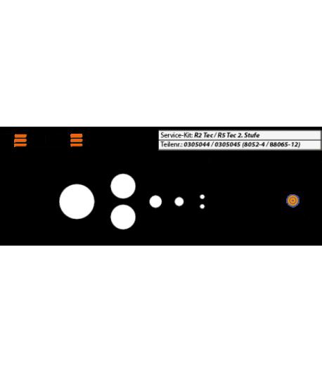 Revisions-Kit 2. Stufe Tec1/Tec2