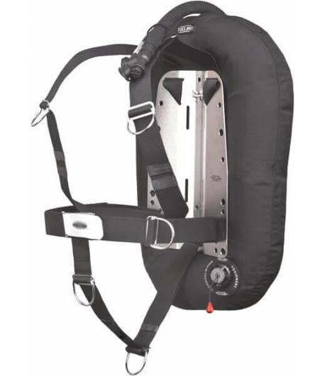 Tecline Wingset Donut 15 mit DIR-Harness, integriertem Mono-Adapter und Flaschengurten