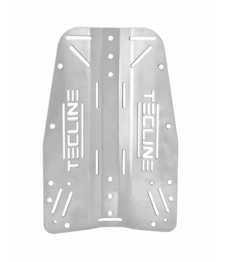 Backplate Tecline 3mm Alu mit Logo