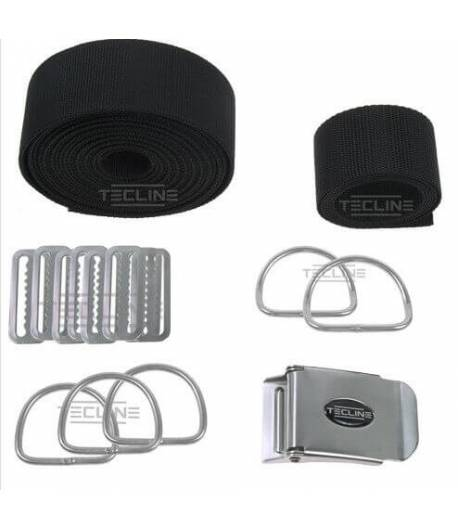 Harness Tecline DIR Standard extra festes Gurtband