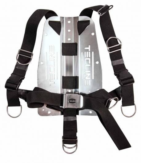 Tecline QR Comfort Harness mit 3mm SS Backplate