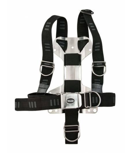 Tecline DIR Harness mit H-förmiger 3 mm Mini-Backplate