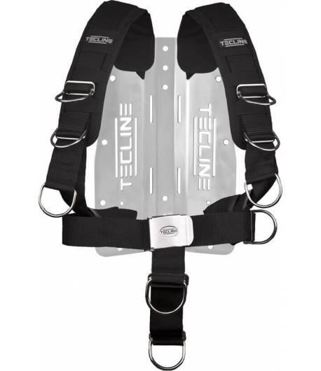 Tecline Comfort Harness mit 3mm Alu Backplate