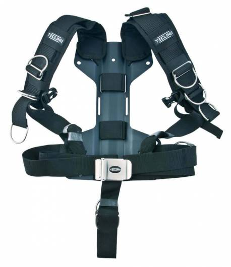 Tecline Comfort Harness mit H-förmiger Mini Alu Backplate