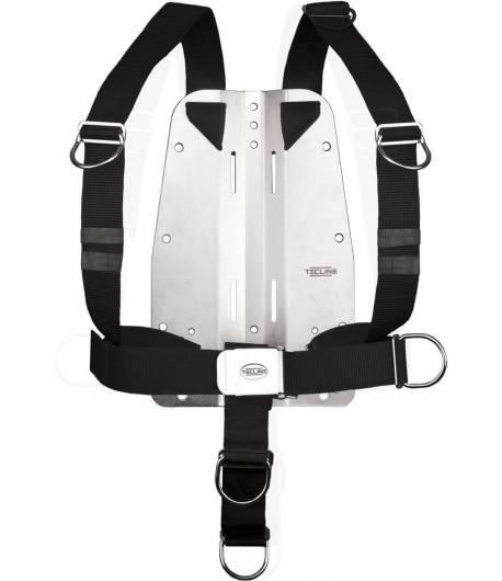 Tecline DIR Harness mit 6mm SS Backplate einstellbar