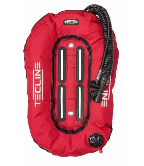 Tecline Travel Set ultra leicht 10l DIR Harness weich Rot