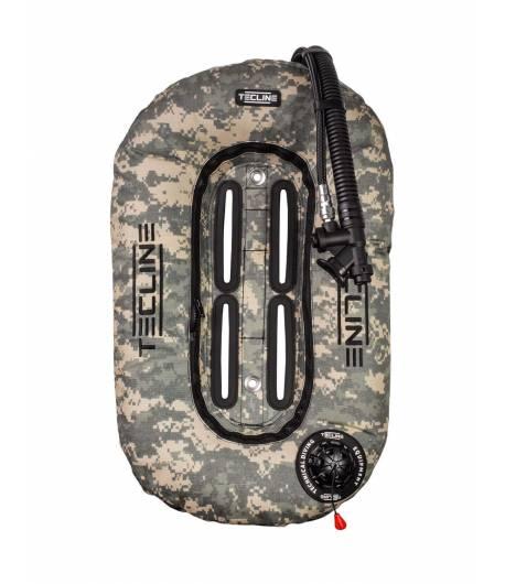 Tecline Travel Set ultra leicht 10l Comfort Harness Camo