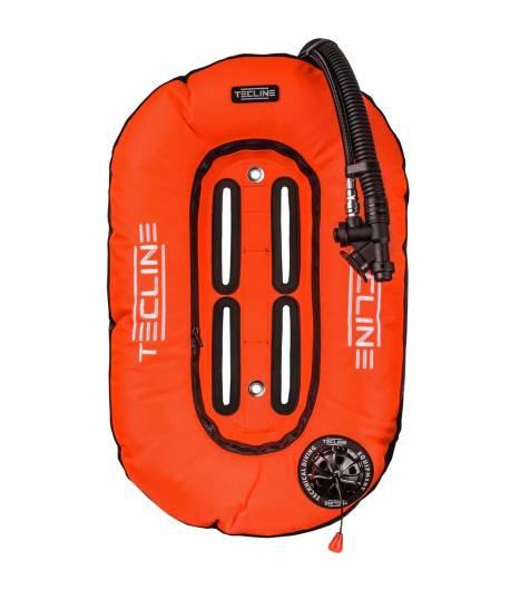 Tecline Travel Set 10l DIR Harness weich mit Bleitaschen Orange