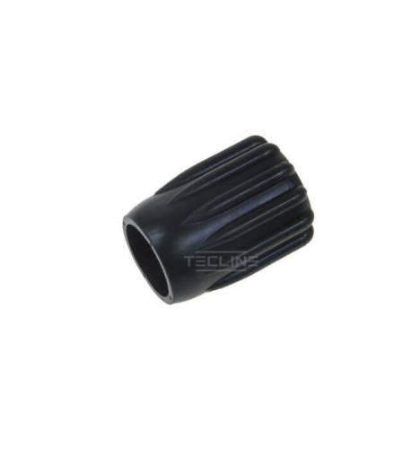 Weiches Ventil-Handrad, 51 mm, Schwarz