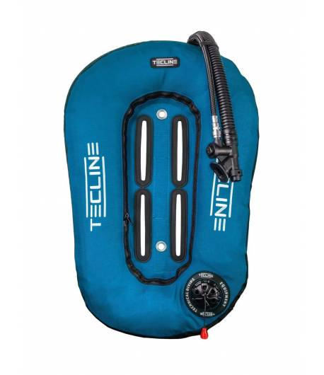 Tecline Travel Set ultra leicht 13l Comfort Eco Harness Blau