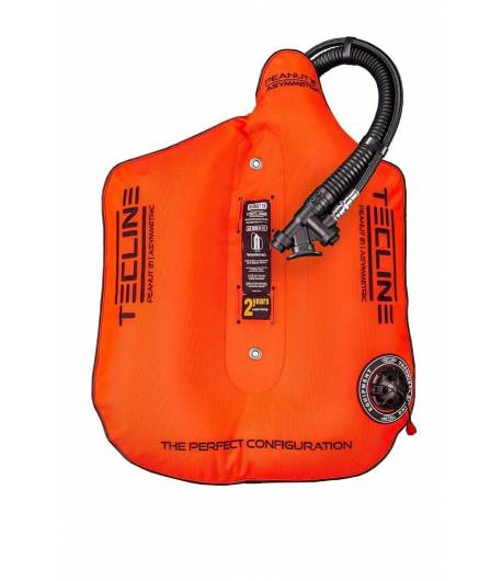 Tecline Travel Set Peanut 16 Comfort Harness Orange mit Bleisystem