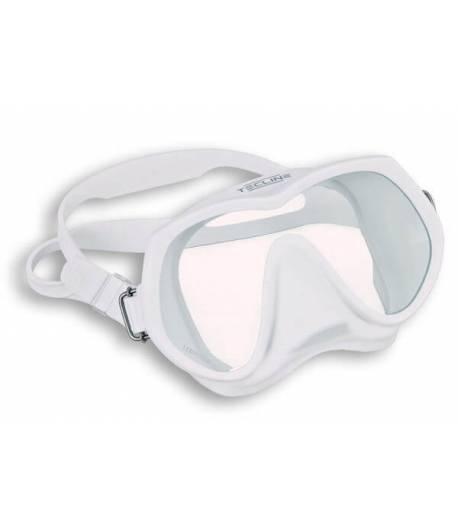 Maske Frameless SuperView  ungeteilt Weiß