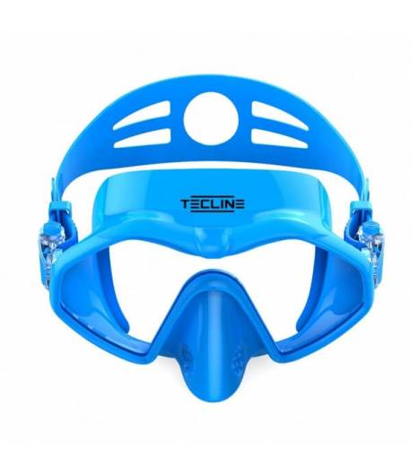 Maske Frameless Neonblau