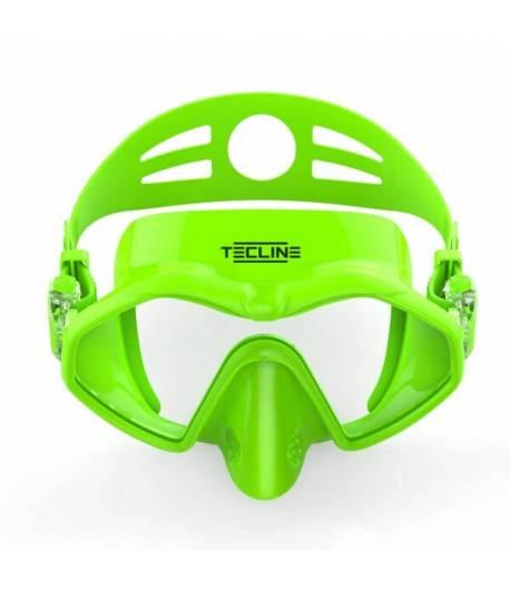 Maske Frameless Neongrün