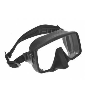 Maske Frameless Schwarz matt