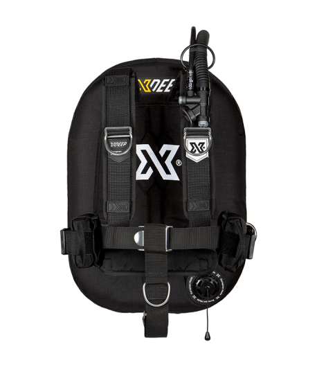 X-DEEP ZEOS 28 Comfort SS Backplate ohne Bleitaschen Schwarz
