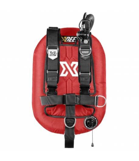 X-DEEP ZEOS 38 Comfort SS Backplate ohne Bleitaschen Rot