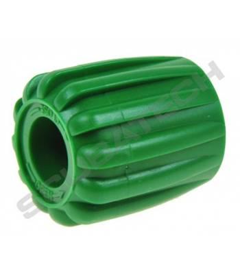 Ventil-Handrad Gummi, Grün