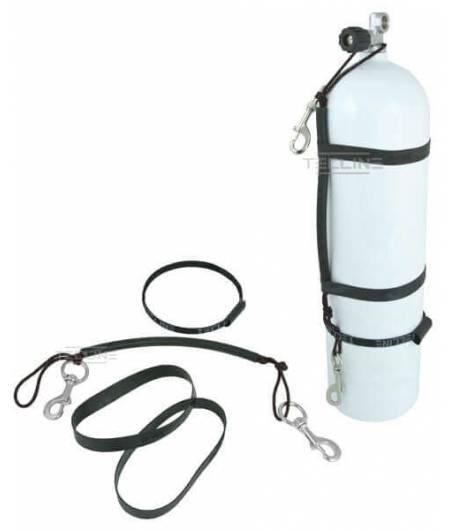 Stage-Rigging-Kit mit Gummibändern für 7l Flaschen