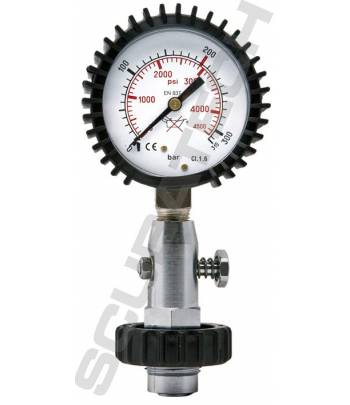 Flaschendruck-Prüfmanometer...
