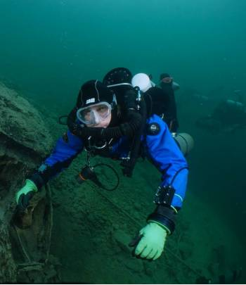TDI JJ-CCR Air Diluent Diver