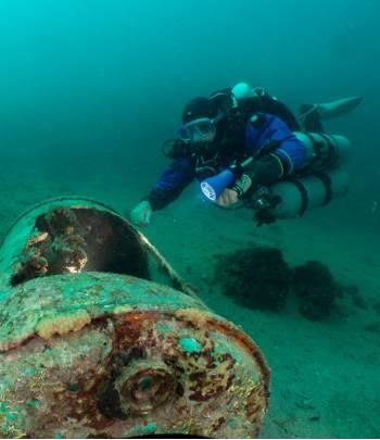 TDI JJ-CCR Trimix Diver