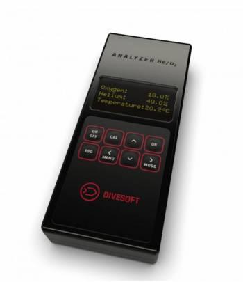Divesoft Analyser O2/He