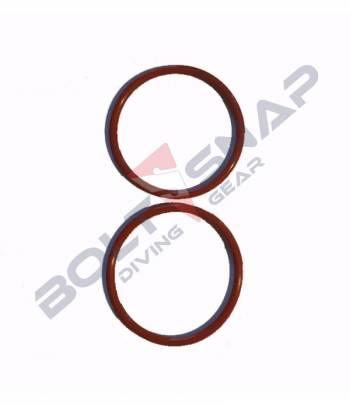 JJ-CCR Silikon O-Ring rot